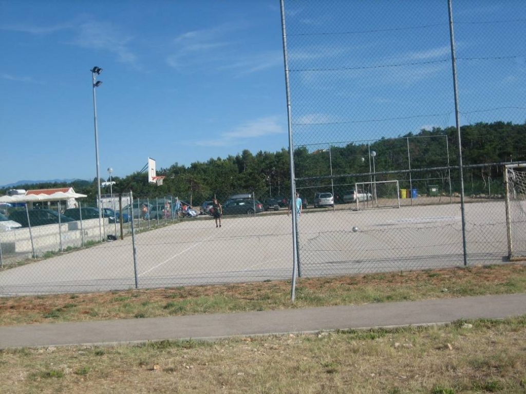 Football and handball playground